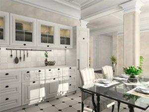 Дизайн кухонь в белом цвете