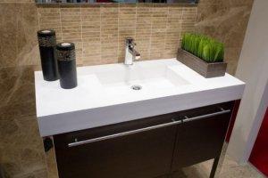 Раковина-умывальник в ванной комнате