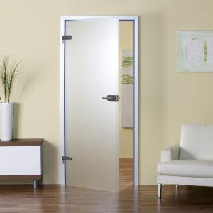 Дверь из стекла - оригинальное дополнение интерьера