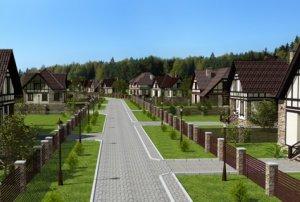 Загородный дом в коттеджном поселке