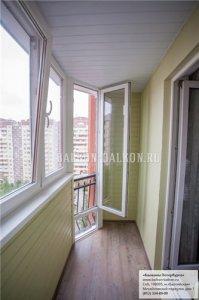 """Увеличение комнаты за счет лоджии. отзыв о компании """"балконы."""