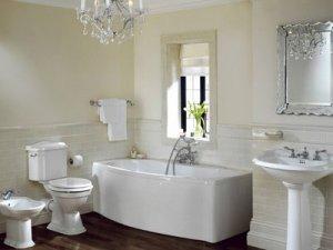 Обустраиваем ванную комнату в классическом стиле