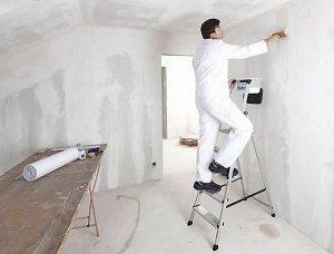 Как подготовить стены под тонкие обои