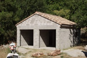 Как строится гараж