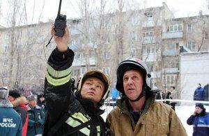Восстановительные работы начались в пострадавшем от взрыва саратовском доме