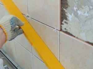 Как подготовить стену в ванной под монтаж плитки