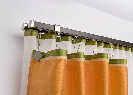 Карнизы для штор на кухню металлические