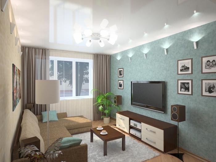 варианты гостиной комнаты фото